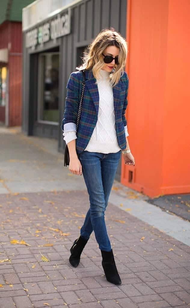 plaid1-632x1024 Girls plaid outfits Ideas-20 Ways to Wear Plaid this Season