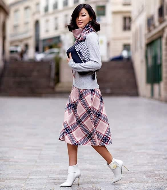 plaid10 Girls plaid outfits Ideas-20 Ways to Wear Plaid this Season