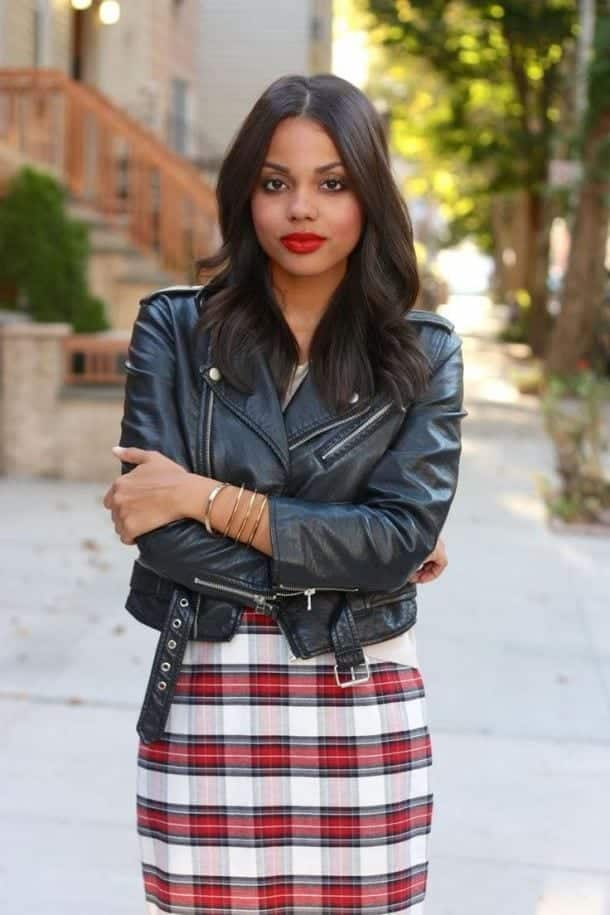 plaid3 Girls plaid outfits Ideas-20 Ways to Wear Plaid this Season