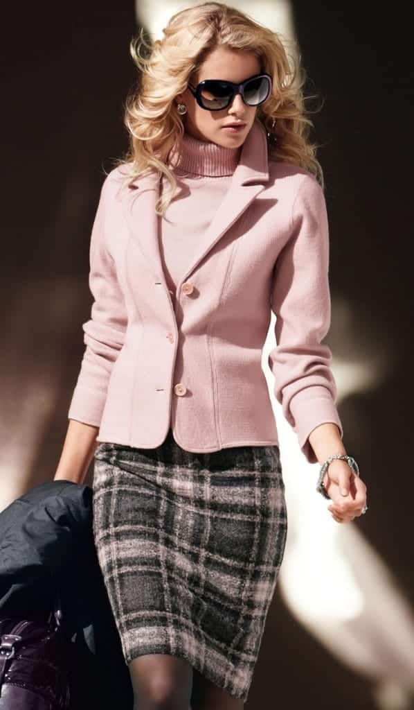 plaid5-598x1024 Girls plaid outfits Ideas-20 Ways to Wear Plaid this Season
