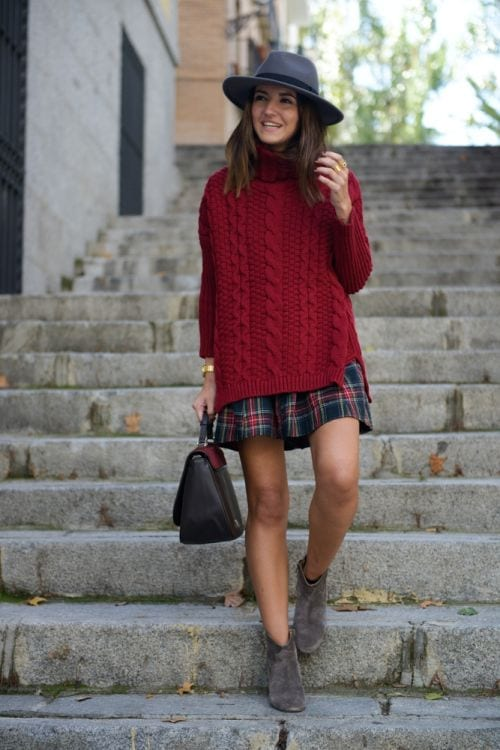 plaid7 Girls plaid outfits Ideas-20 Ways to Wear Plaid this Season