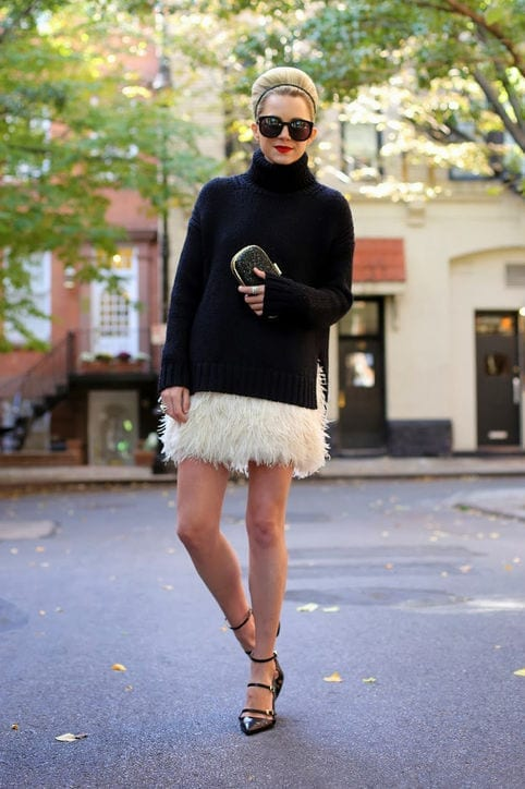 tn12 How to Wear Turtle Neck Sweater? 24 Cute Outfit Ideas