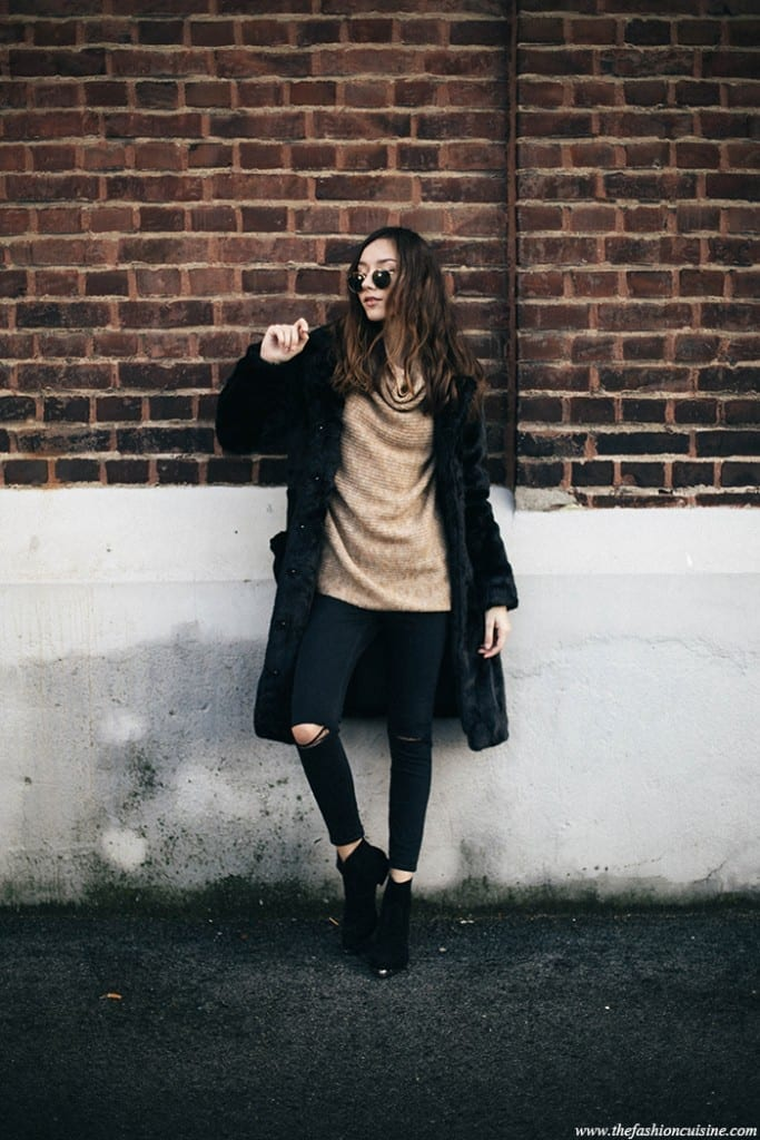 tn16-683x1024 How to Wear Turtle Neck Sweater? 24 Cute Outfit Ideas