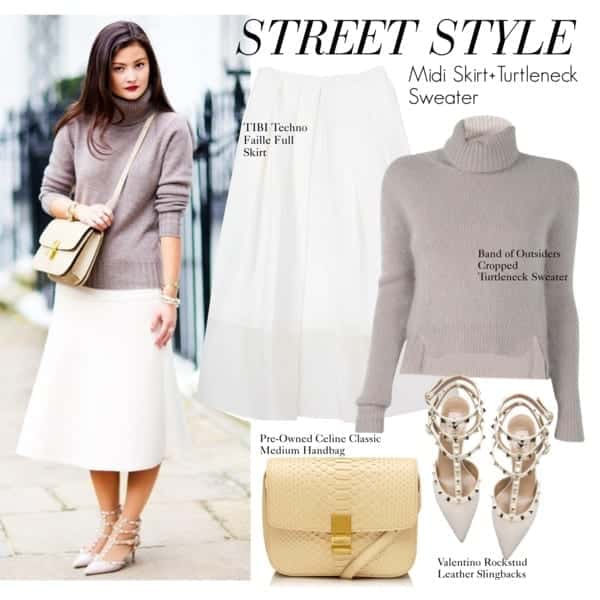 tn19 How to Wear Turtle Neck Sweater? 24 Cute Outfit Ideas