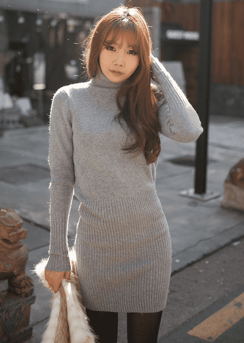 tn24 How to Wear Turtle Neck Sweater? 24 Cute Outfit Ideas