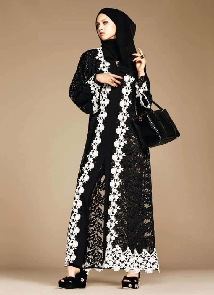 1-exclusive-dolce-gabbana-abaya-line-autox1000 Dolce & Gabbana Hijab and Abaya Collection 2019-Branded Girls