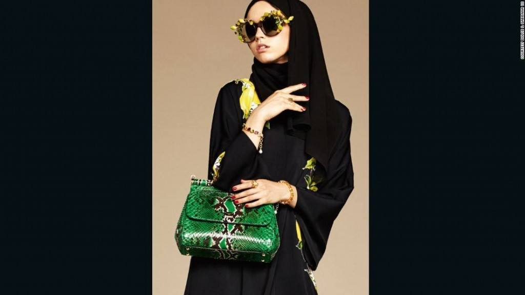 160107173539-dolce-gabbana-hijab-abaya-10-super-169-1024x576 Dolce & Gabbana Hijab and Abaya Collection 2019-Branded Girls