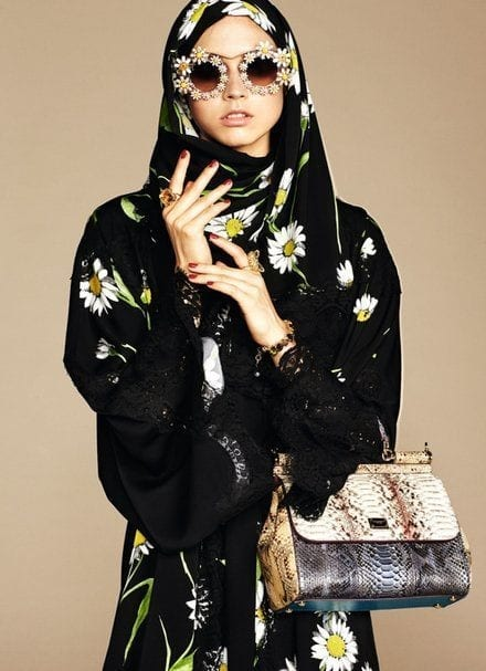 2-dolce-hijab Dolce & Gabbana Hijab and Abaya Collection 2019-Branded Girls