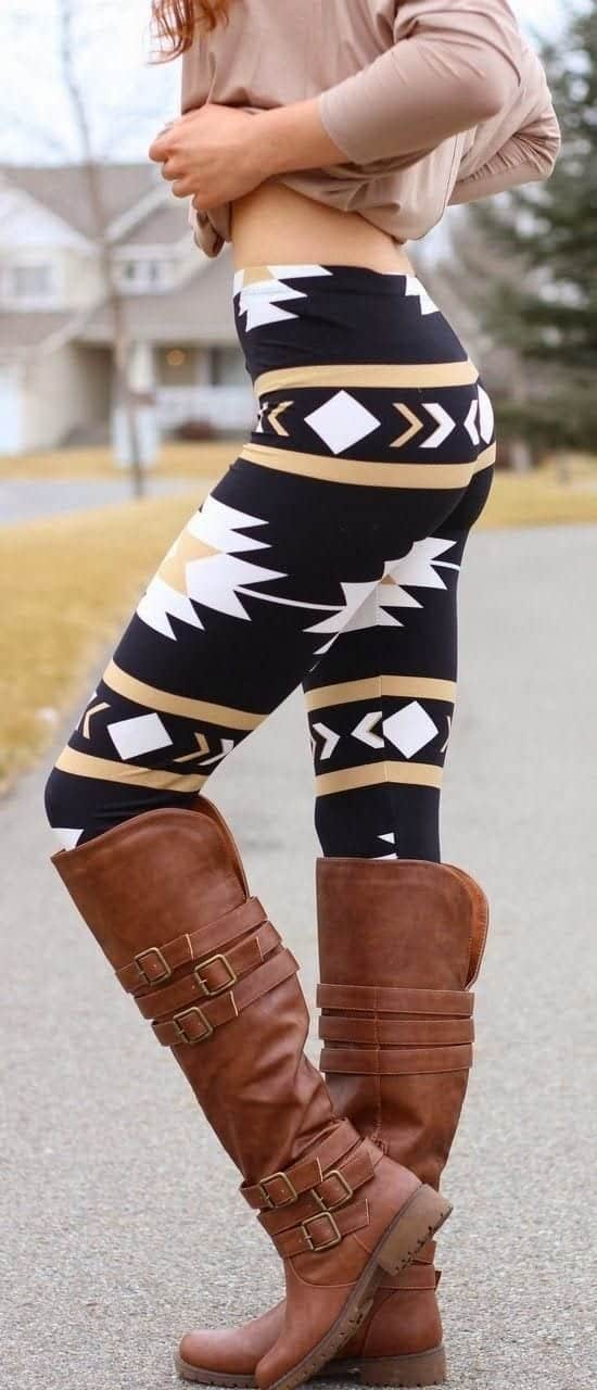 2cba570c0ae087f718c8a0a46d2abcfa Brown Boots Outfits-18 Stylish Ways to Wear Brown Boots