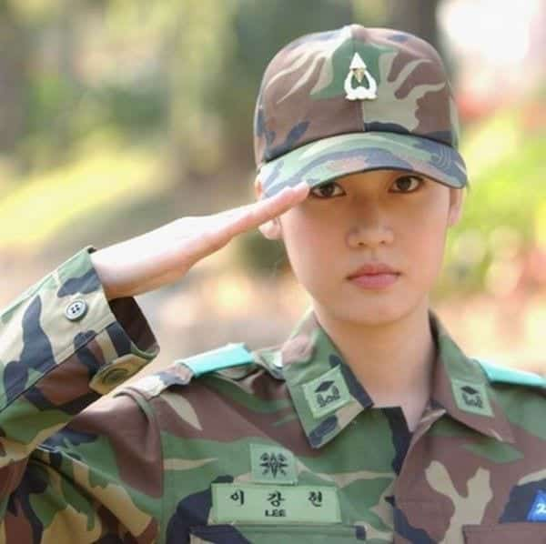 4-1 Top 10 Countries with Most Beautiful Women Soldiers in World