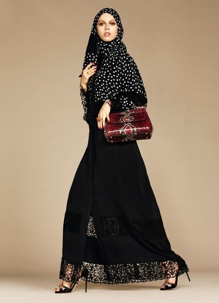 5-exclusive-dolce-gabbana-abaya-line-742x1024 Dolce & Gabbana Hijab and Abaya Collection 2019-Branded Girls