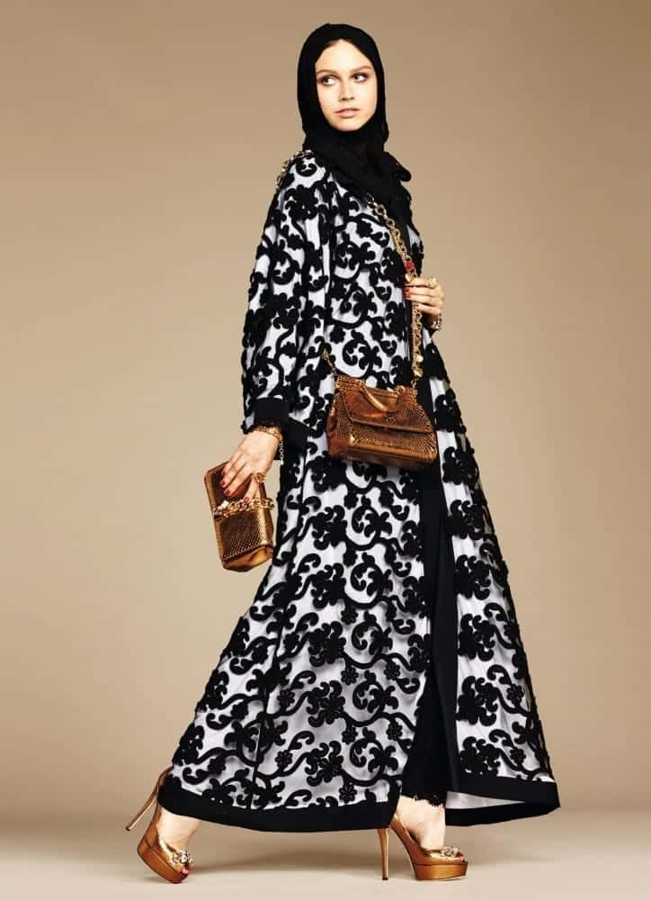 6-exclusive-dolce-gabbana-abaya-line-autox1000 Dolce & Gabbana Hijab and Abaya Collection 2019-Branded Girls