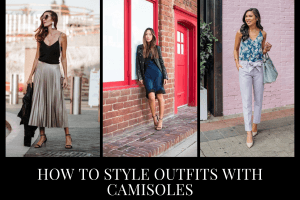 How to Wear Cami Dress 20 Camisole Outfit Ideas with Tips