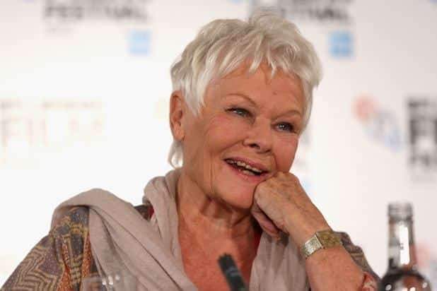 Judi-Dench Stylish Older Women-30 of the Most Fashionable Aged Women Alive