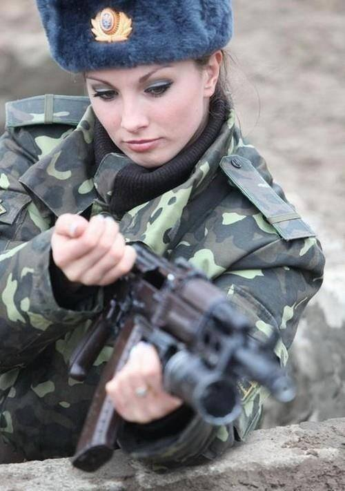 Ukraine Most Sexy Female Soldiers-15 Most Beautiful Women In Uniform