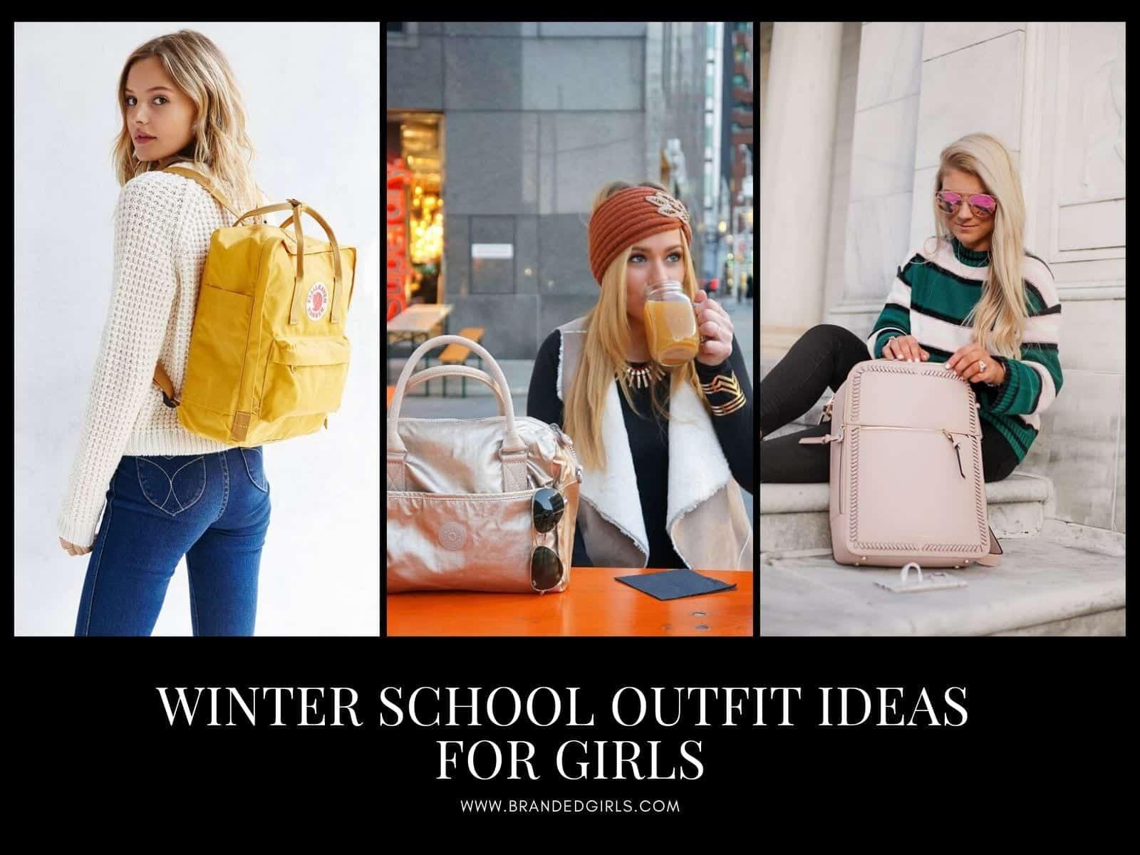 Winter-School-Outfit-Ideas Winter School Outfit Ideas-20 Cute Dressing Ideas for School Girls