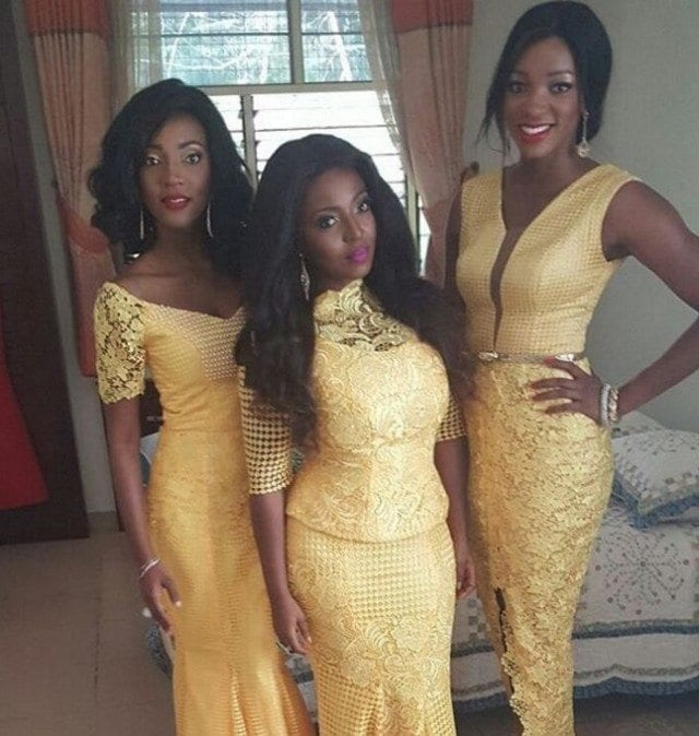 Yvonne-Okoro-and-sisters-01-640x674 14 Cute Matching Outfits For Siblings That The Family Will Love