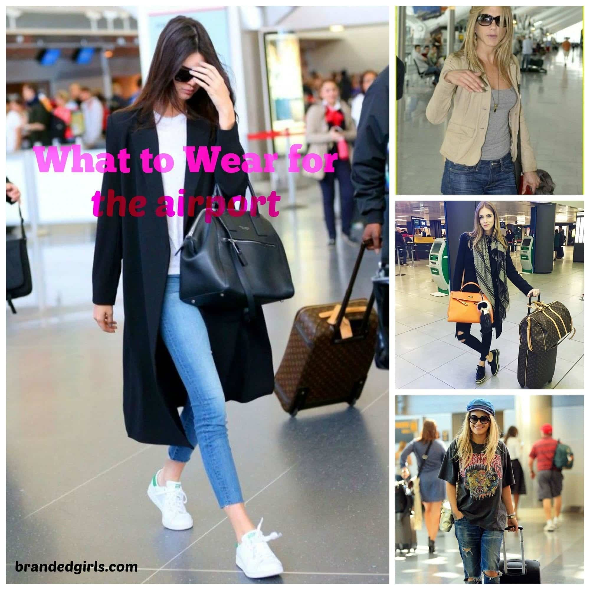 airport-outfits Cute Outfits To Wear At Airport-18 Best Airport Styling Tips