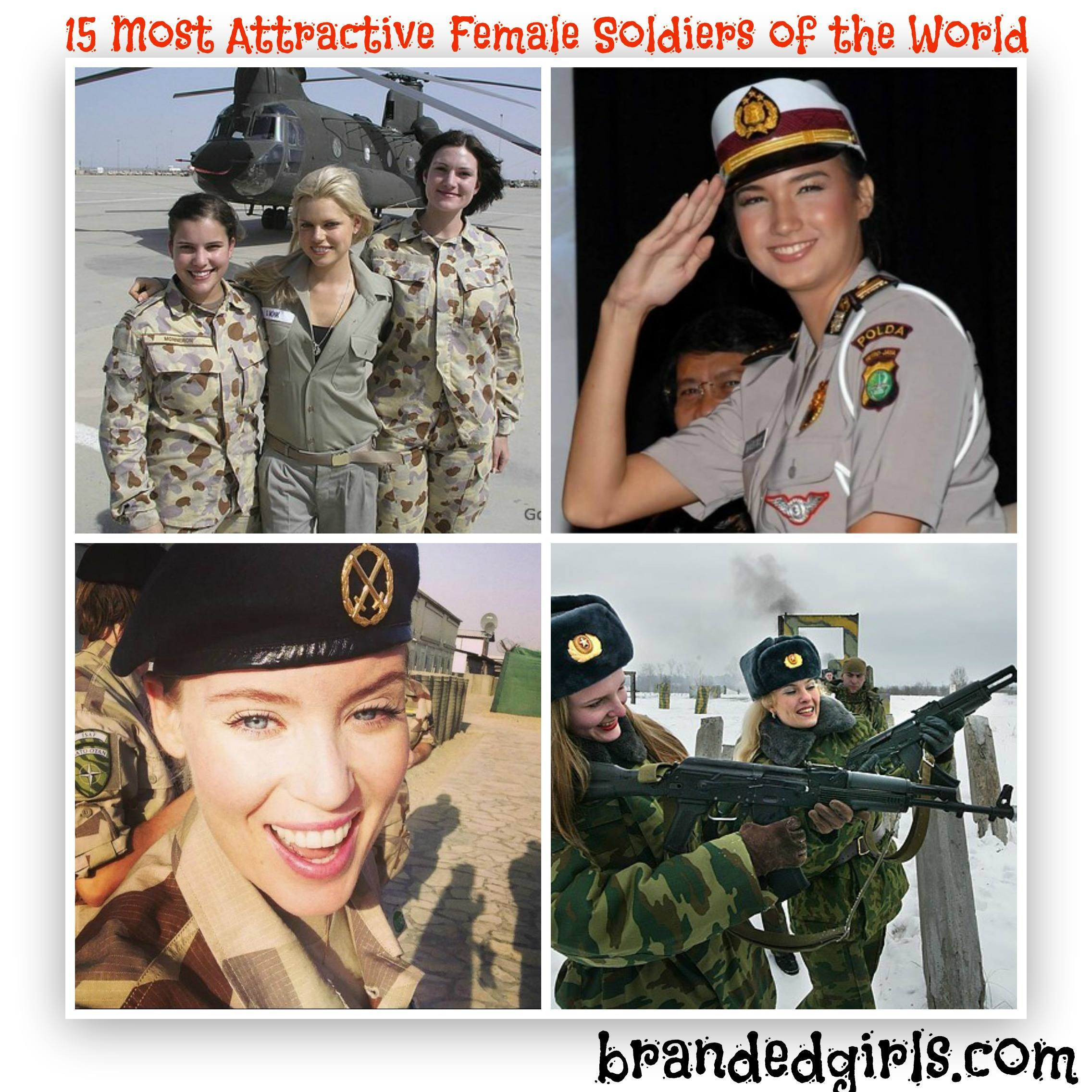 sexy female soldiers