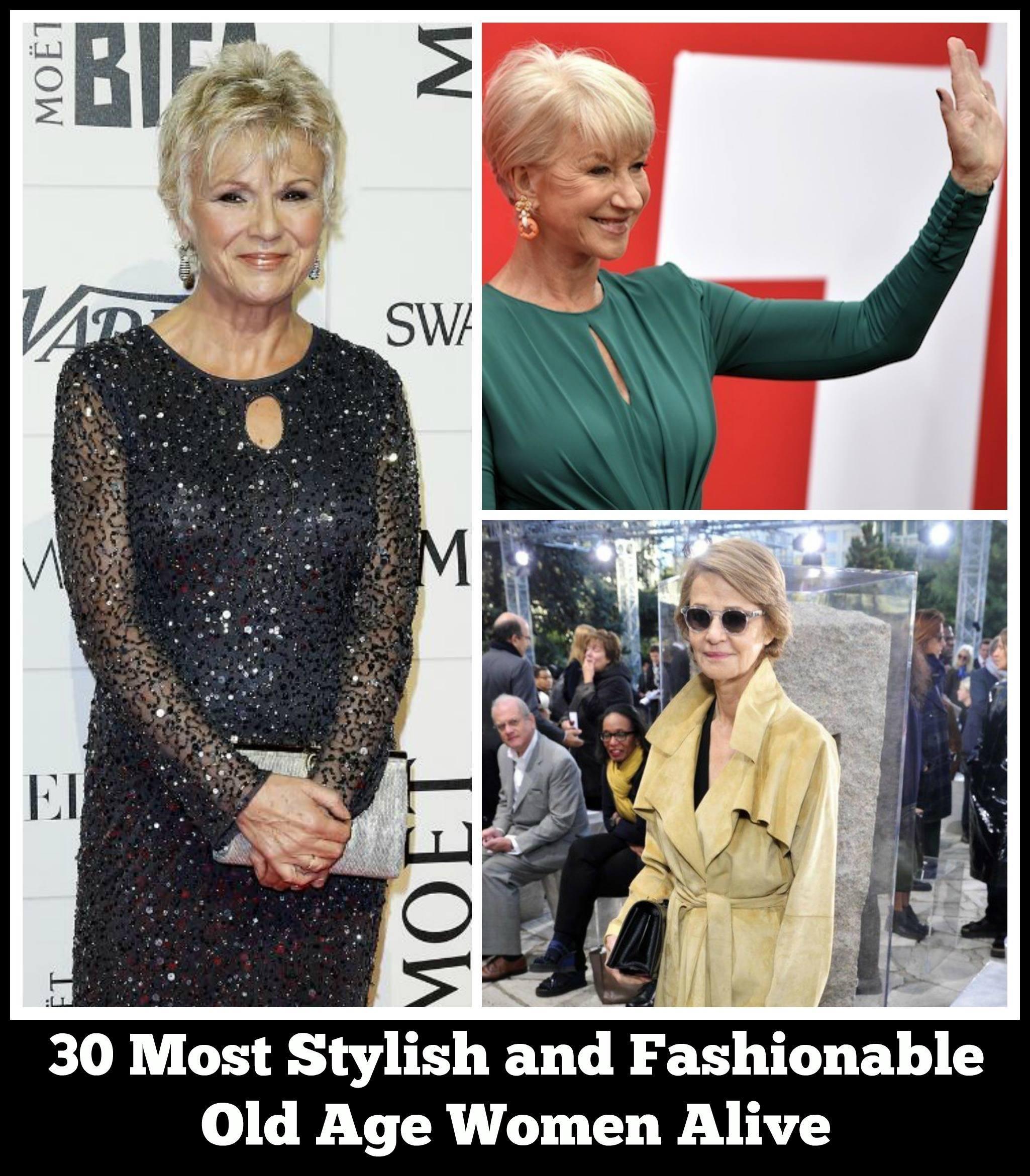 stylish old women