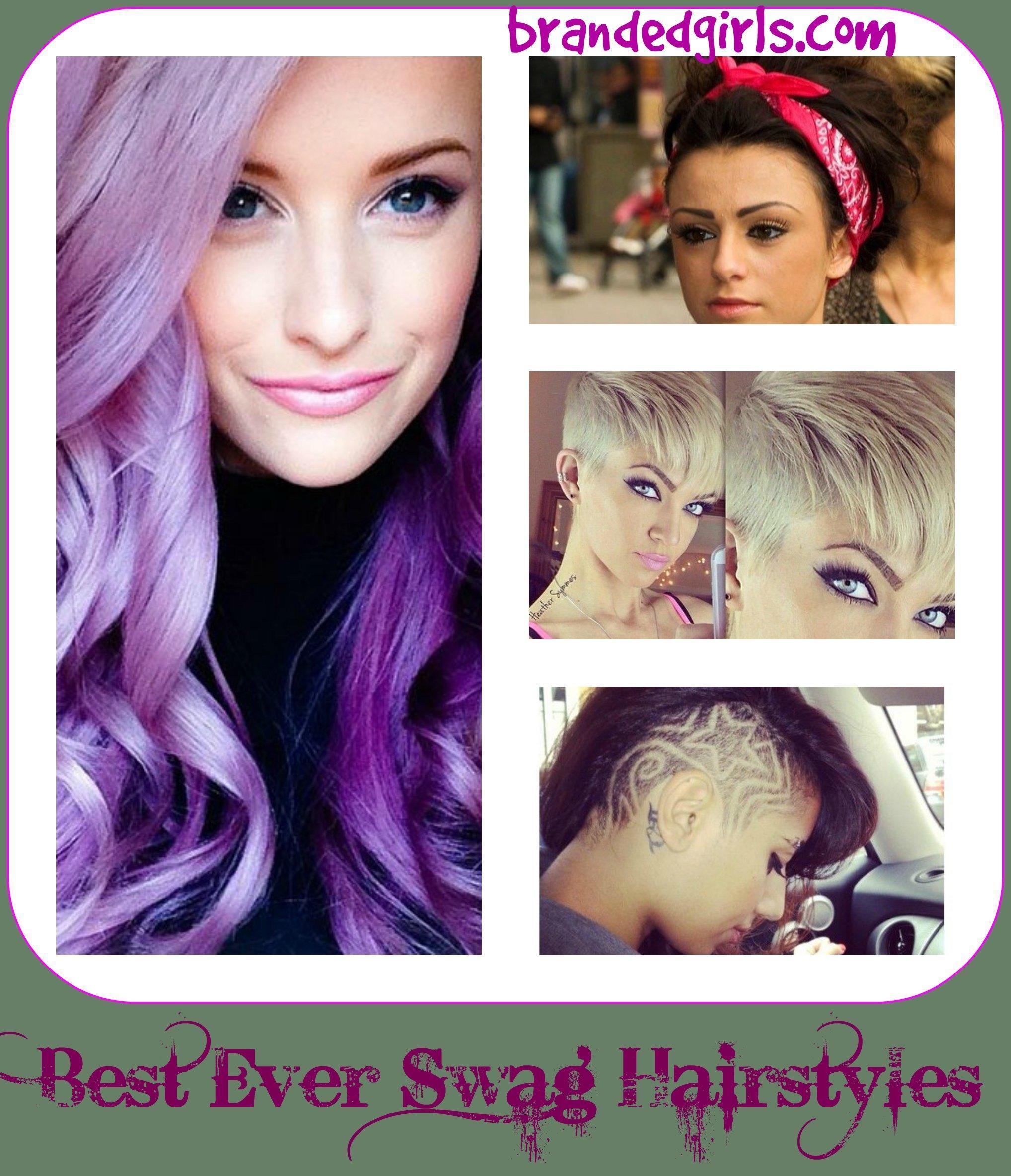 swag hair girls