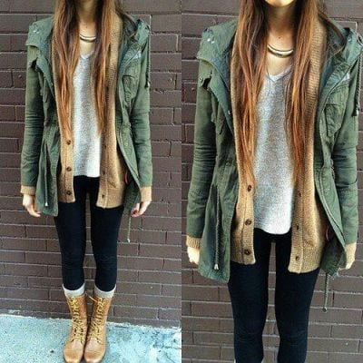 tumblr_njj9hfFBZz1tugv9co1_400 Brown Boots Outfits-18 Stylish Ways to Wear Brown Boots