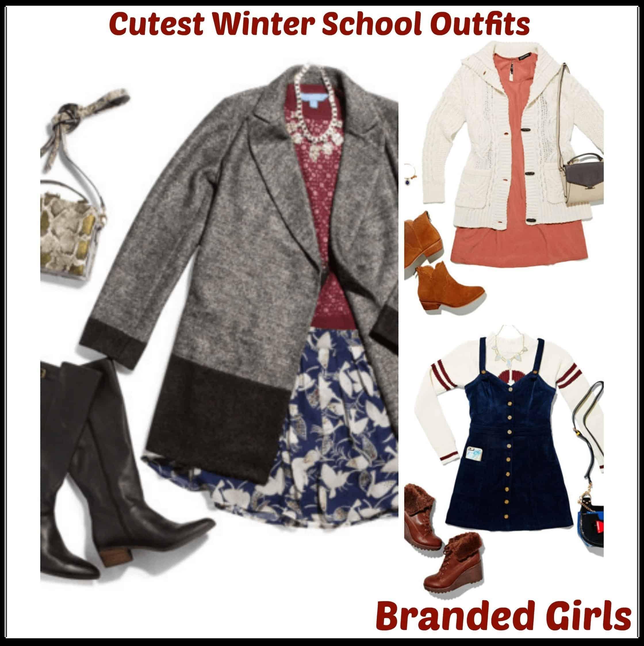 winter school outfits girls