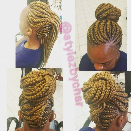 0fc199379e1811c73bda528ca51397d4 Cornrow Hair Styles for Girls-20 Best Ways to Style Cornrows