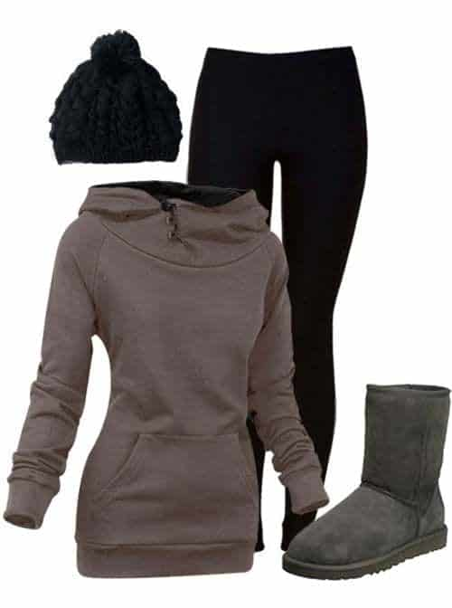 6b709aee9fb53a0ea6a40f0c134cfcea Outfits with Leggings -20 Ways to Wear Leggings Stylishly
