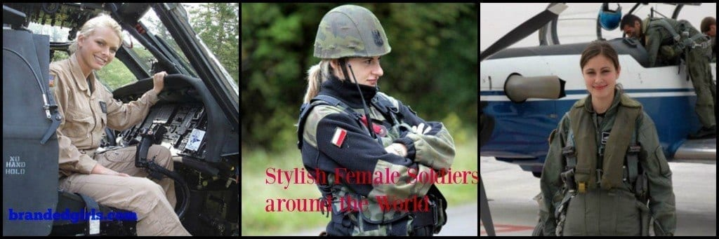 PicMonkey-Collage-1024x341 Top 10 Countries with Most Beautiful Women Soldiers in World