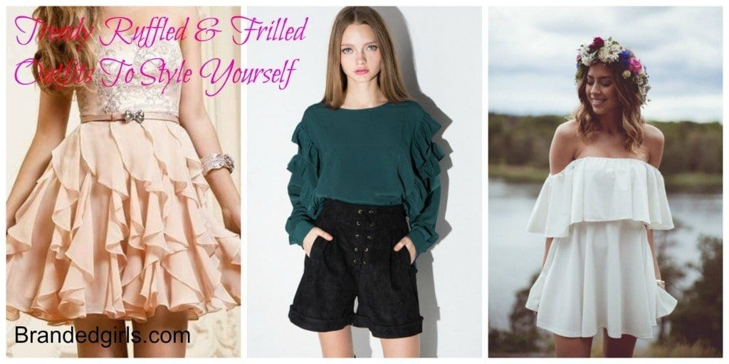 PicMonkey-Collage-5-1024x512 20 Ways to Wear & Style Ruffled Outfits–Ruffles Frills Fashion