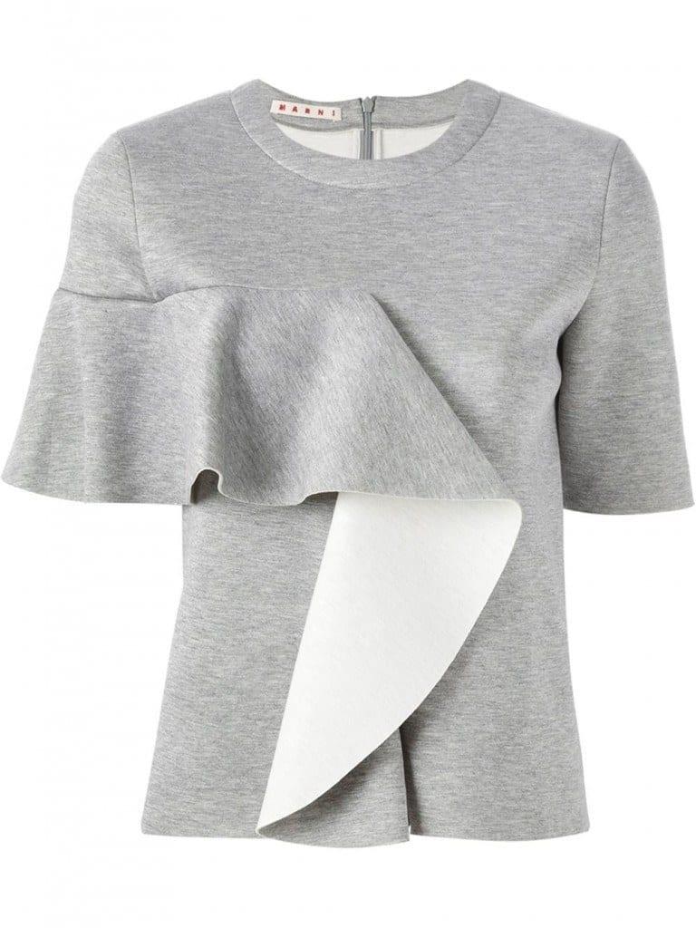Side-Ruffle-768x1024 20 Ways to Wear & Style Ruffled Outfits–Ruffles Frills Fashion