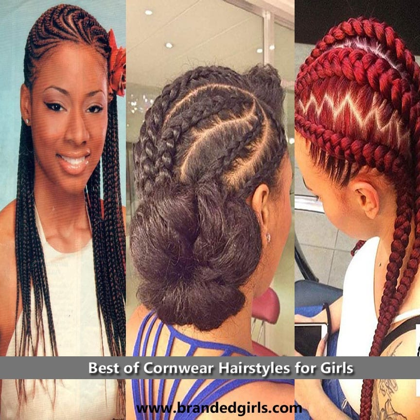 20 Best Cornrow Hair Styles for Girls