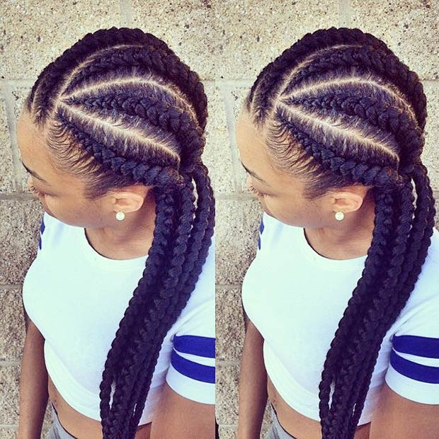 ezimprovedbeauty3 Cornrow Hair Styles for Girls-20 Best Ways to Style Cornrows