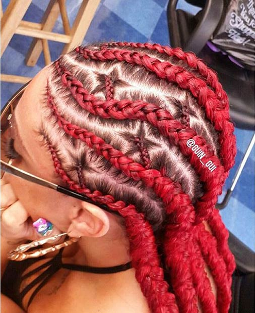 guin_gui Cornrow Hair Styles for Girls-20 Best Ways to Style Cornrows