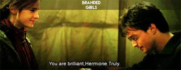 harry-and-hermione-harry-and-hermione-31703242-500-390 50 Cute and Funny Things to say to a Girl to Impress Her