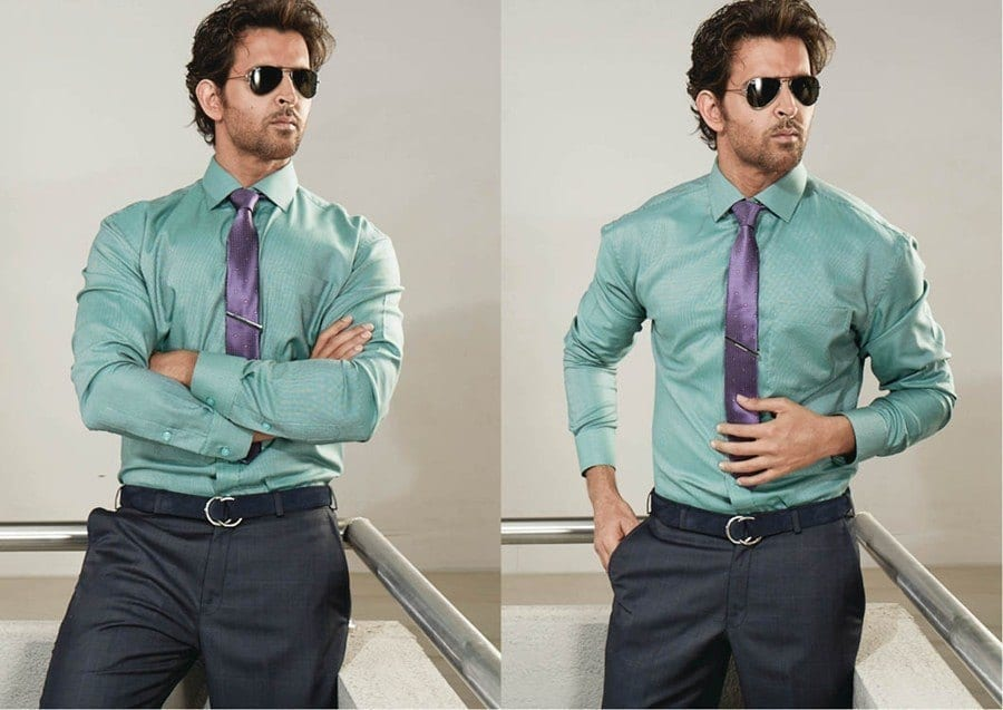 10-Fancy-Office-Party-Getup-Outfit Hrithik Roshan Outfits-30 Best Dressing Styles of Hrithik Roshan