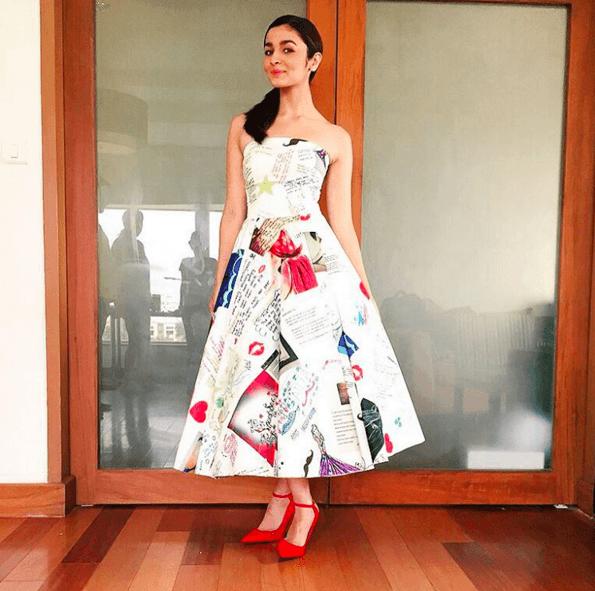 12-Alias-Artistic-Fan-Mail-Dress Alia Bhatt Outfits-32 Best Dressing Styles of Alia Bhatt