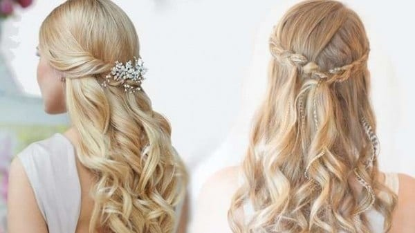 12-Beautiful-and-Classic-Wedding-Hairdo Hairstyles For Round Face-36 Cute Hairstyles for This Year