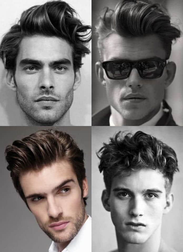 15-The-Messy-pompadour 48 New Hairstyles for Skinny Boys Trending These Days