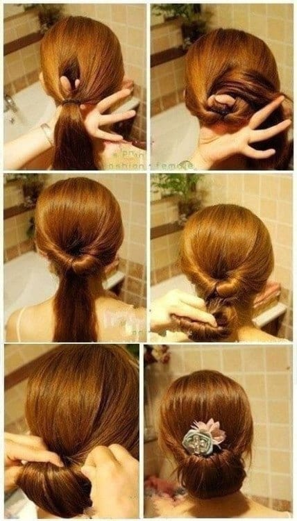 17-Unusually-Classy-Wedding-Hairdo Hairstyles For Round Face-36 Cute Hairstyles for This Year