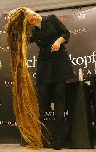18-Anna-Janko-With-Longest-Hair-in-Ukraine Longest Hair Women-30 Girls with Longest Hair In the World