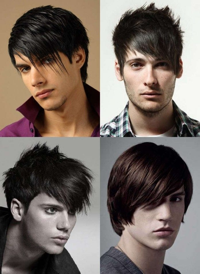 20-The-Emo-Haircut 48 New Hairstyles for Skinny Boys Trending These Days