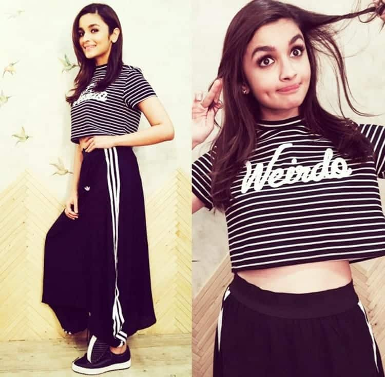 22-Cute-Casual-Get-up Alia Bhatt Outfits-32 Best Dressing Styles of Alia Bhatt