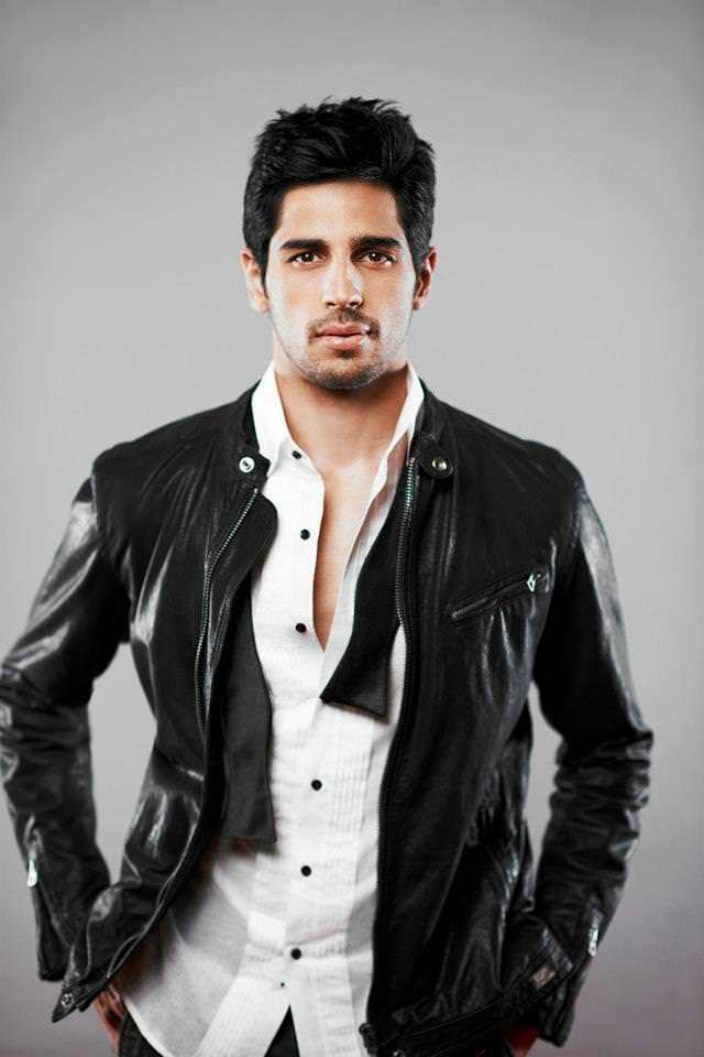 24-In-a-Glossy-Leather-Jacket-Outfit Sidharth Malhotra Outfits-30 Best Dressing styles of Sidharth Malhotra to Copy