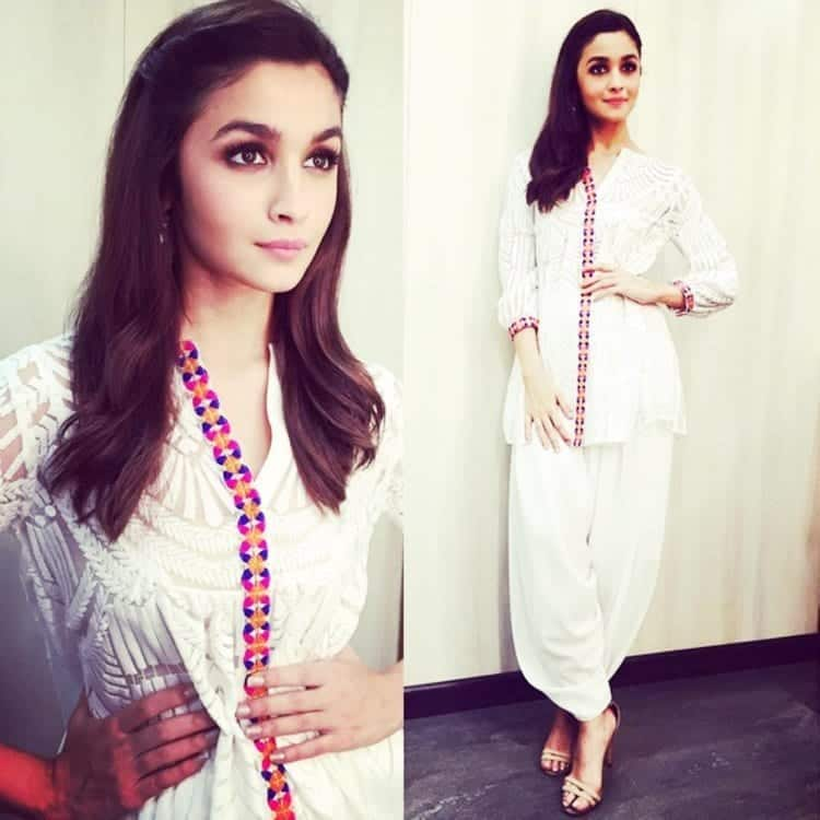 25-Alias-Kedia-Style-Kurta-Outfit Alia Bhatt Outfits-32 Best Dressing Styles of Alia Bhatt