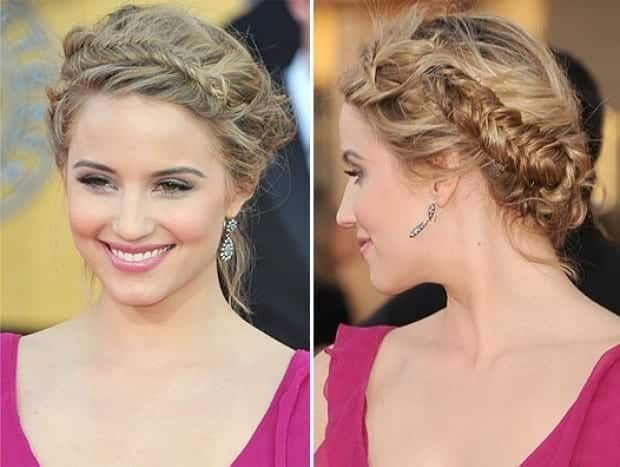 26-Appealing-Braided-Hairdo-for-Round-Face Hairstyles For Round Face-36 Cute Hairstyles for This Year