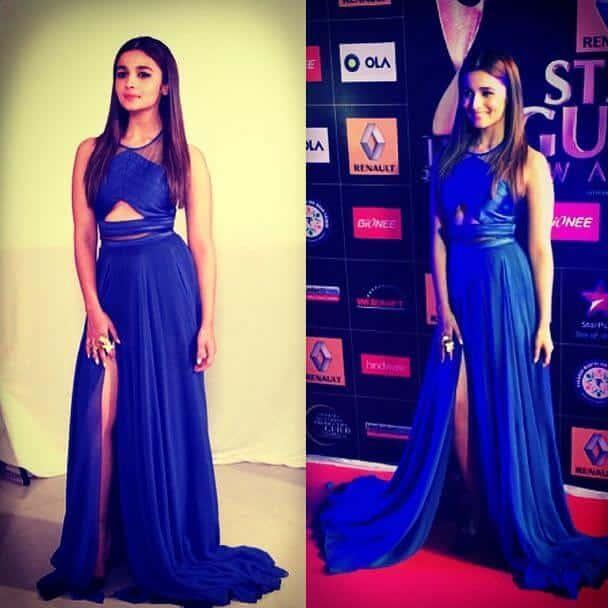 29-Glamorous-Gown Alia Bhatt Outfits-32 Best Dressing Styles of Alia Bhatt