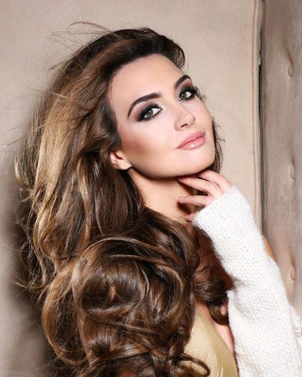 3-Rina-Chibany Top Muslim Models-15 Prettiest Muslim Female Models in World