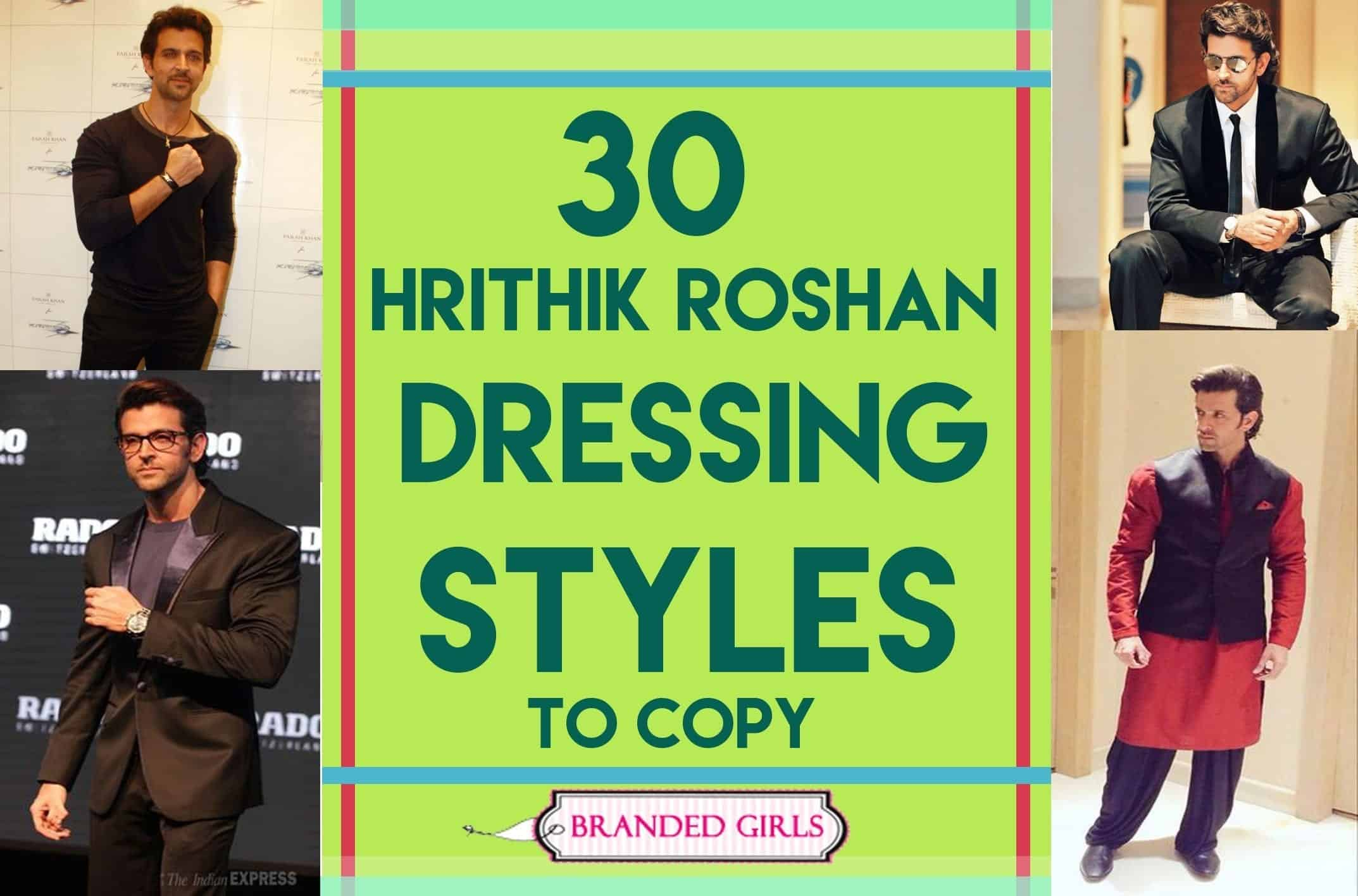30 dressing styles od hrithik roshan to copy